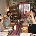 アイスティーセミナーで、カフェ風アレンジに挑戦