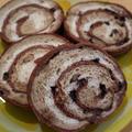 高山の見本。チップデールぐるぐる食パン‼︎イースト編