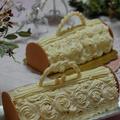 バッグのケーキ2018クリスマスケーキ