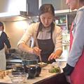 お料理クラス実習風景