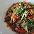 5月 韓国料理! プルコギ