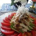 7月初夏の中華料理 バンバンジー