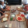 2018-08 kidsレッスン 生地から作るピザ