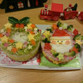 ケーキ寿司 リース&サンタクロース