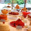 アフタヌーンティパーティの様子です。英国菓子を製作。