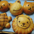 親子米粉パン作り教室で動物パンのレッスンをしました♪
