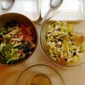 広東風野菜の甘酢漬けは SUCREの定番レシピ(左)♪
