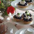 ブルーベリータルト&レモンケーキ