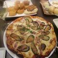 生地から作るpizza でイタリアン