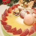 2011年クリスマスはマスカルポ-ネホワイトケーキ作ります