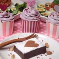 29年2月のグルテンフリー米粉カップケーキ&レアケーキ♪