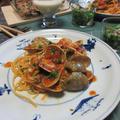 5月の家庭料理で主菜のボンゴレロッソを失敗なく美味しく