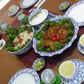 タイ料理ベーシッククラス4月のお料理