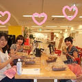 銀座のお教室にて、、、みんなでわいわいパン・ケーキ作り☆★☆