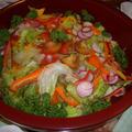 安心&安全で新鮮な野菜を贅沢につかいます。