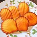 楽しいお菓子体験『貝殻の形が可愛いマドレーヌ』