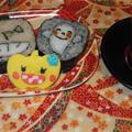 レッスンはお茶付き。講師が巻いたお寿司はお土産用に!