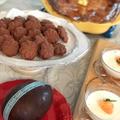 イースターのチョコレートエッグ、サブレ、サーモンパイ!