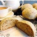 ロイヤルミルクティーを仕込水にしたメロンパン