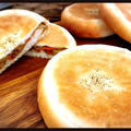『きんぴらごぼうとチーズのおやきパン』