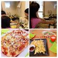 リクエストレッスン☆ 子供と一緒にピザセット作り^ ^