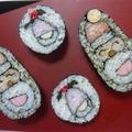 飾り巻き寿司 de クリスマス♪楽しく美味しい(#^^#)