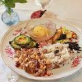 この月のテーマはダイエット新和食。ワンプレートで楽しく♪