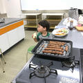 こんなに小さなお子さんでもできる、おうちパン教室開催中