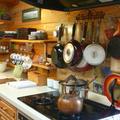 北杜教室は出張レッスン。素敵なキッチンをお借りしています。