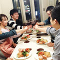 料理サークル「アンモア会」料理作って飲んで楽しくおしゃべり。