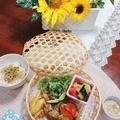 R1・7月のイベントレッスンです。夏野菜が並びます。