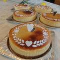 林檎のチーズケーキ