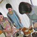 苺どら焼き作り