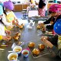 市の子供達を対象としたパン教室。とても上手に仕上がりました。
