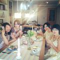 親子でご参加下さった生徒様♡アジアン料理に、皆さん大満足!
