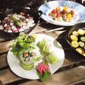 北鎌倉たからの庭での大人スタンダードクラスでのお料理です。