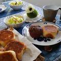 試食は月替わりのサラダまたはスープ、コーヒーと一緒に♪