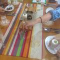テーブルコーディネートは、お料理によって変わります☆