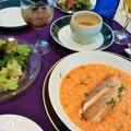 フランスの食卓 ~スープドポワソンのリゾット・ジャポネ