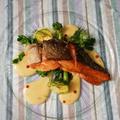 おもてなしの食卓~季節のお魚のポワレ、オランデーズソース