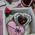 アイシングクッキー バレンタインレッスン