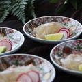 秋の和食レッスン「鯛の昆布締め」