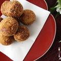 秋の和食レッスン「里芋と牛肉のコロッケ」