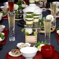 2018年11月のテーブル。ランチは和食でした。
