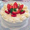 ふんわりシットリストロベリーショートケーキ