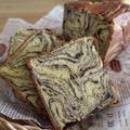 食パン型で作るショコラ・マーブル
