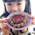 お子様向けデコもちアレンジ2 チョコレート挟みデコケーキ