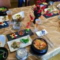 煮干しで韓国料理!
