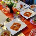 鶏ガラだしで中華料理!
