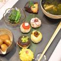 野菜手毬寿司~春の和食レッスン~